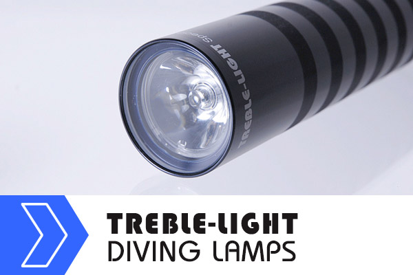 TREBLE-LIGHT Diving Lamps